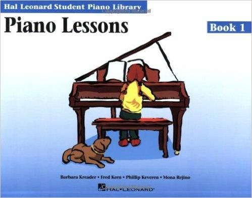 Piano lesson book 1