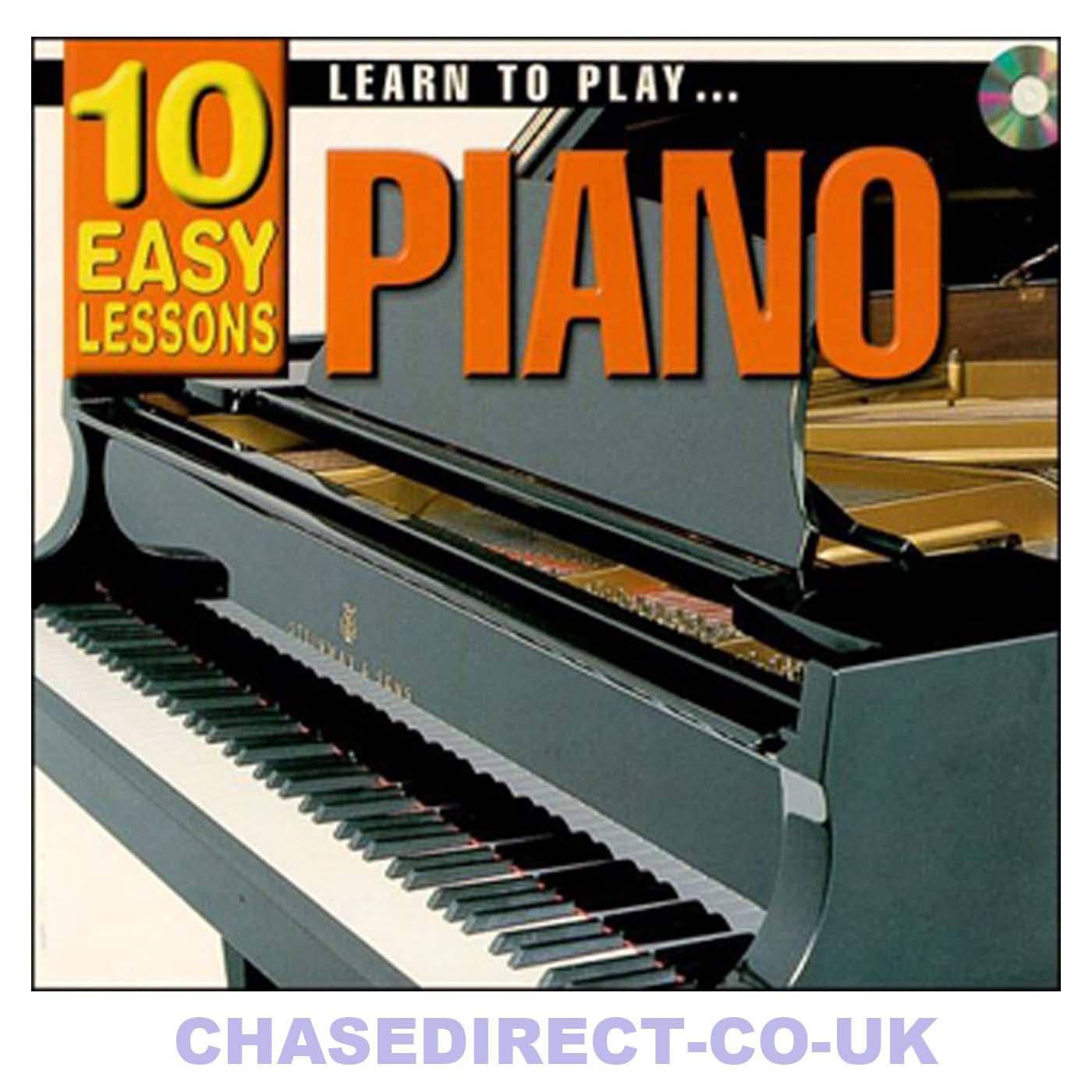 How to play - Popular piano 10 easy lessons
