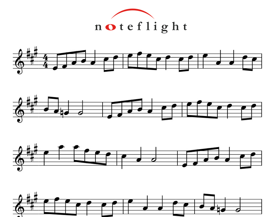 Flute score for 'Oonappooveee' Malayalam song